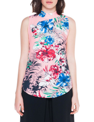 Tropical Floral Top