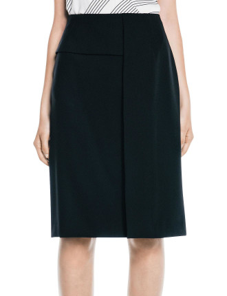 Technical Twill Fold Skirt