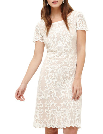 TATIANA EMBROIDERED DRESS