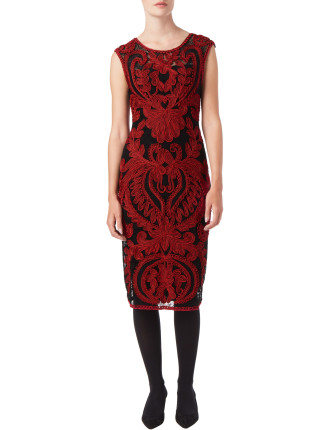 Delaney Tapework Dress