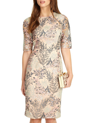 Fern Embroided Dress