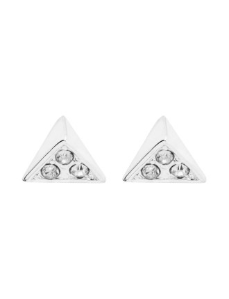 Triangle Crystl Earring
