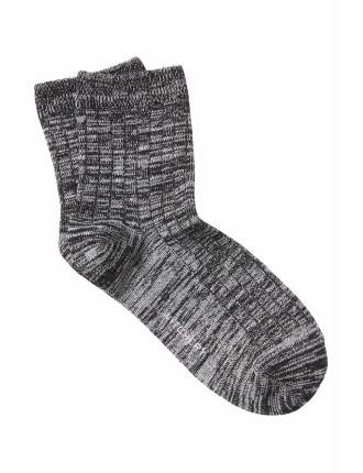 Rib Twist Sock