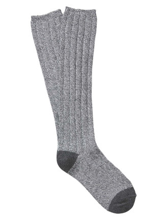 Twisted Boot Sock