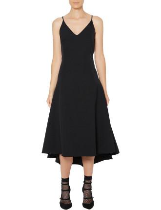 Volume Midi Dress