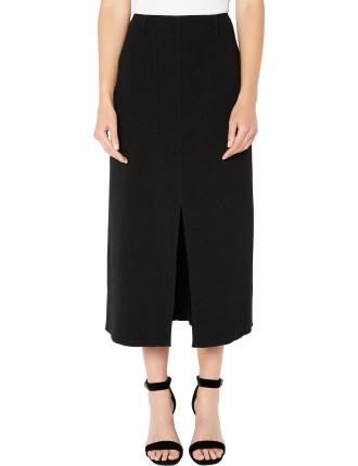 Centre Front Split Aline Skirt