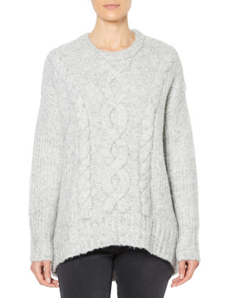 Relaxed Cable Knit