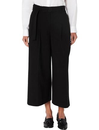 Black Belted Culotte