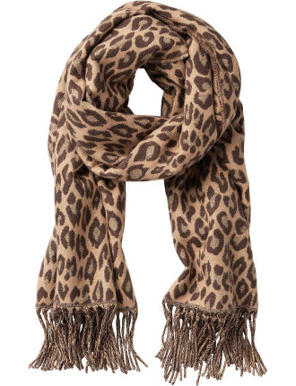 Woven Animal Scarf