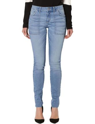 Patch Skinny Jean