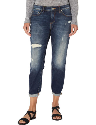 Crop Trash Jean