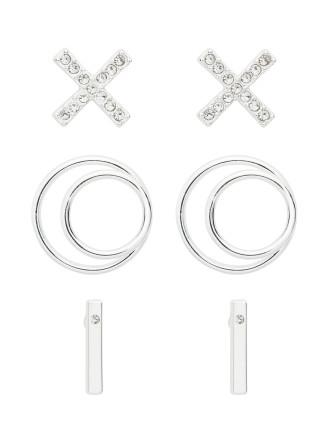 Geometric Earring Set