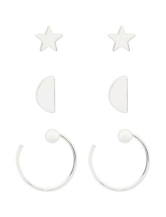 Star Earring Set