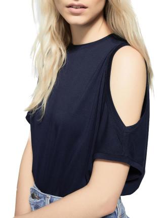 Cut Shoulder Shirt