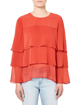 Layer Frill Blouse