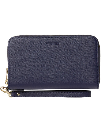 Tia Saffiano Phone Wallet