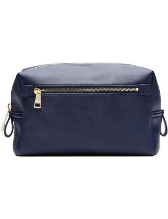 Liana Stripe Cosmetic Bag