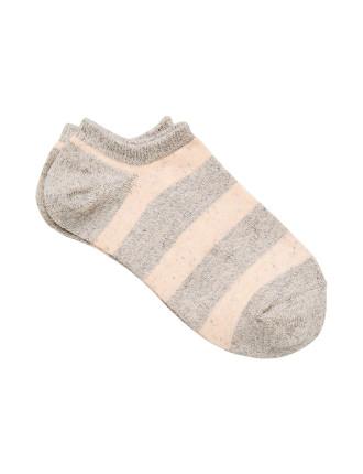 Flecked Sneaker Sock