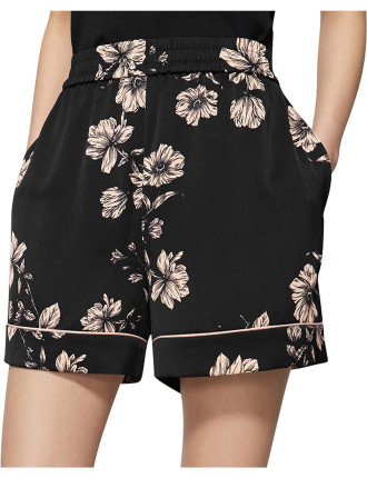 Piped Print Short