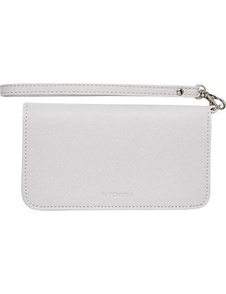 Harmony Saffiano Phone Wallet