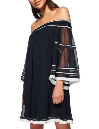Gathered Yoryu Dress