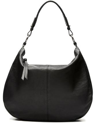Hilda Leather Hobo Bag
