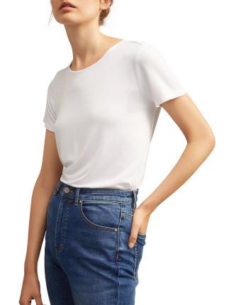 Crew Shirt Tail Tee