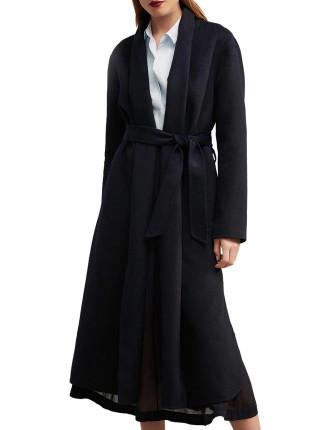 Split Hem Coat