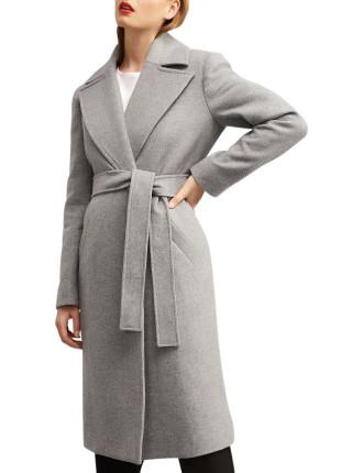 Lined Lapel Coat