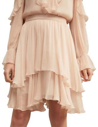 Ruffle Layer Skirt