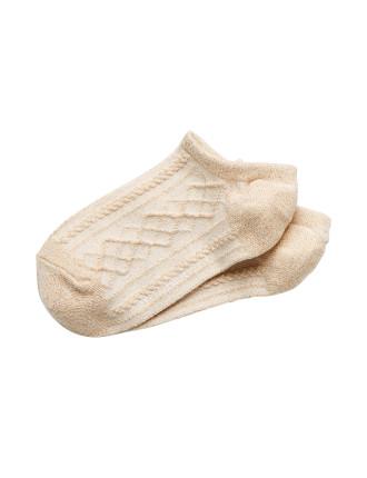 Argyle Sneaker Sock