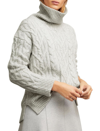 Lofty Cable Knit