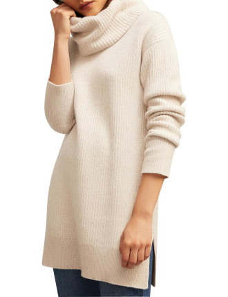 Oversized Roll Neck Knit