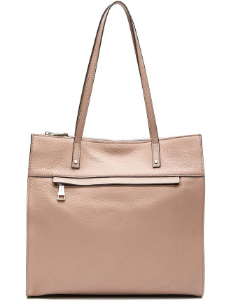 Calista Leather Tote