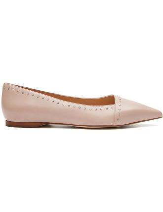 Anna Leather Flat