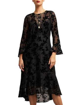 Devore Sheer Dress
