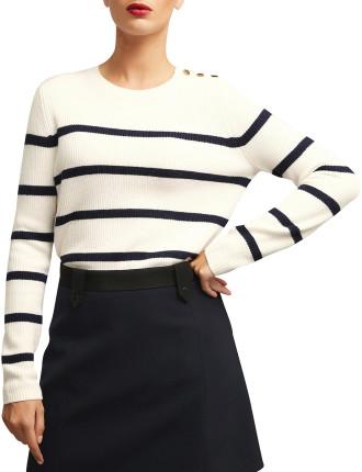 Snap Side Curve Knit