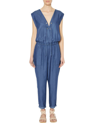 Patch Pocket Jumpsuit