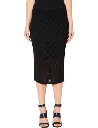 Mesh Tube Skirt