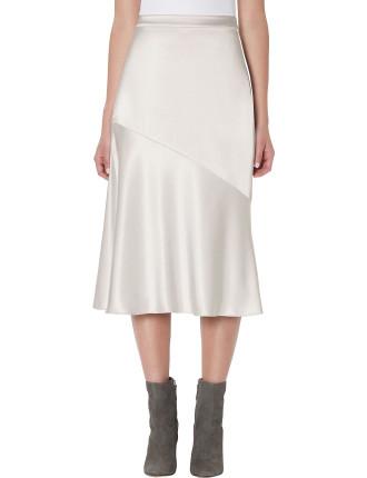 Jessie Satin Skirt