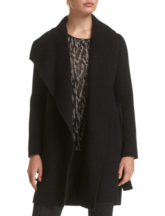 Kayla Drape Coat
