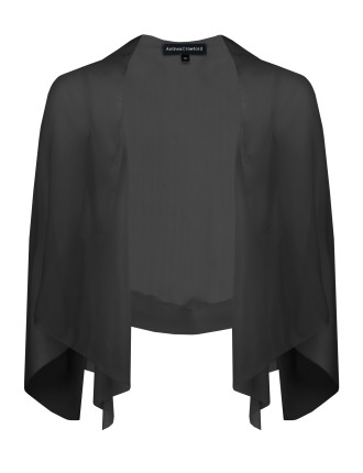Silk Draped Shrug