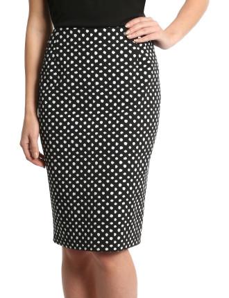 Jacquard Skirt Ea05103