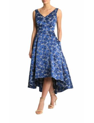 Jacquard High Low Dress Fc05492