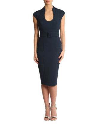 Stretch Crepe Dress Ib05493
