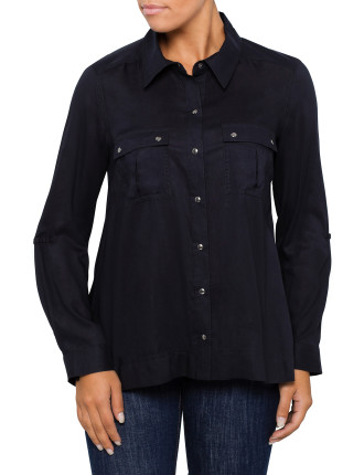 Trapeze Studded Shirt