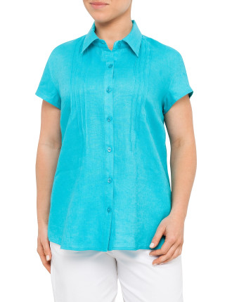 Pintucked Shirt
