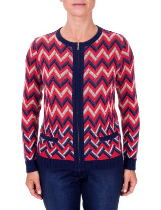 Zip Front Knit