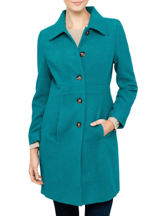 Wool Collared Coat