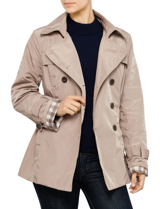 Double Breast Belted Trench